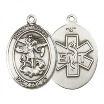 St. Michael / EMT Medium Pendant