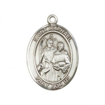 St. Raphael the Archangel Medium Pendant