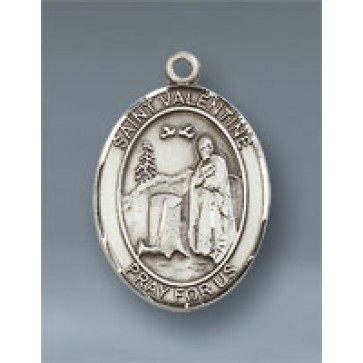 St. Valentine of Rome Medium Pendant