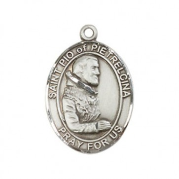 St. Pio of Pietrelcina Medium Pendant