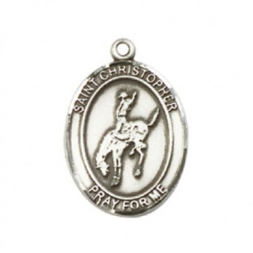 St. Christopher / Rodeo Medium Pendant