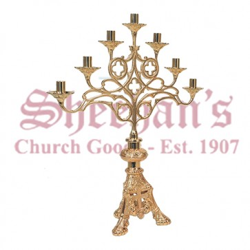 Altar Candelabra In Bronze Finish