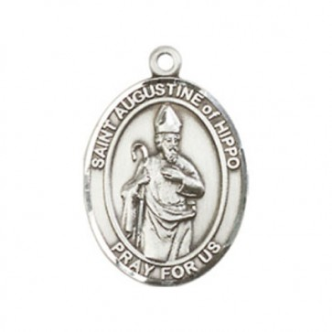 St. Augustine of Hippo Medium Pendant