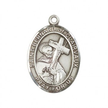 St. Bernard of Clairvaux Medium Pendant