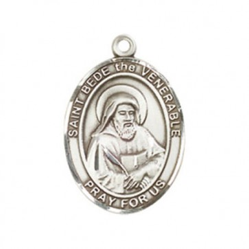 St. Bede the Venerable Medium Pendant