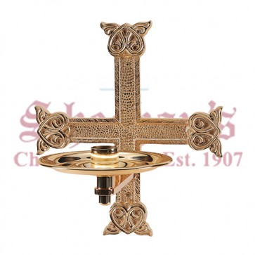 Consecration Candle Holder with High Relief Details