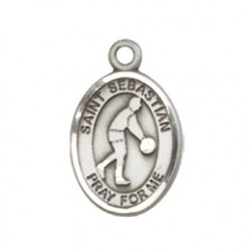 St. Sebastian/Basketball Small Pendant