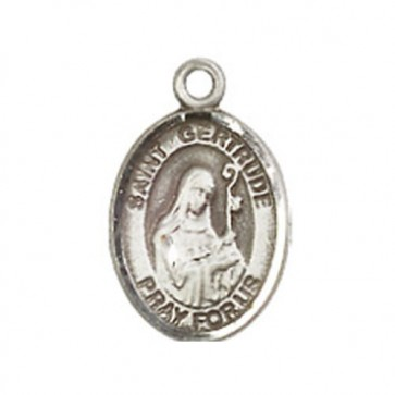 St. Gertrude of Nivelles Small Pendant
