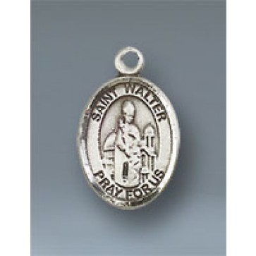 St. Walter of Pontnoise Small Pendant