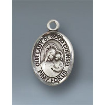 O/L of Good Counsel Small Pendant