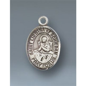 St. Lidwina of Schiedam Small Pendant