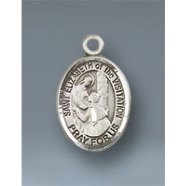 St. Elizabeth of the Visitation Small Pendant