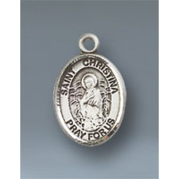 St. Christina the Astonishing Small Pendant