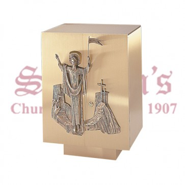 Tabernacle with Risen Christ
