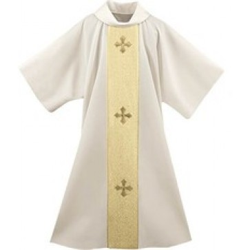 Gold Festive on Cream Dalmatic
