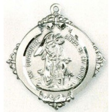 Guardian Angel High Relief Medal