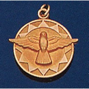 Holy Spirit Medal 14K Gold