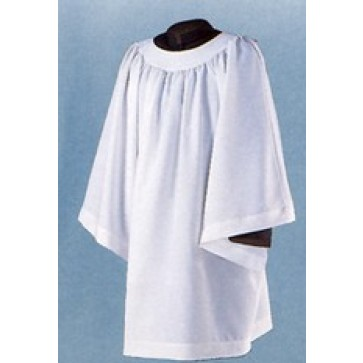 "Abbey Brand ""Extra Full Cut"" Liturgical Surplice"