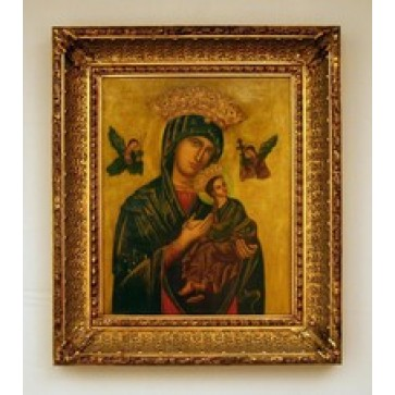 Our Lady of Perpetual Help Hand Painted Oil