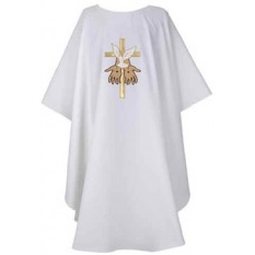 The Gift White Chasuble