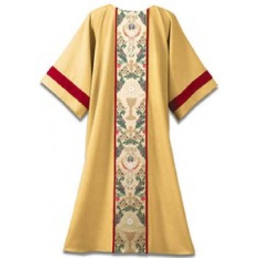 Tapestry of Life on Gold with Red Velvet Trim Dalmatic