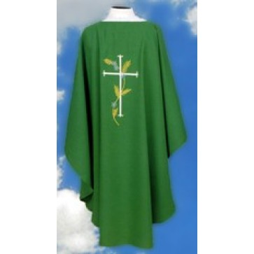 Chasuble with Cross and Wheat