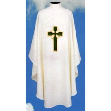 Chasuble with Celtic cross