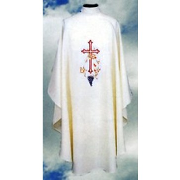 Chasuble with Cross Wheat and Grapes
