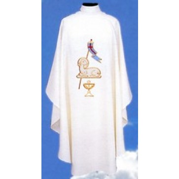 Chasuble with Lamb of God symbol