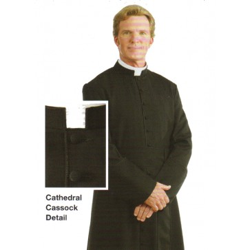 Cathedral Cassock from R.J. Toomey Company