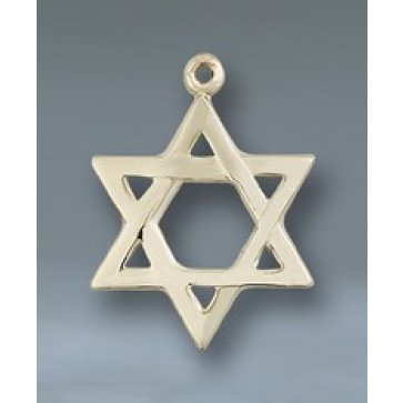 Star of David 14KT Pendant
