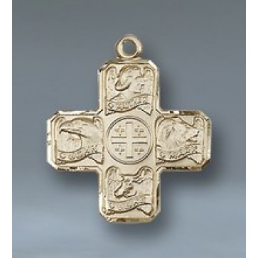 Evengelist Cross 14KT Gold