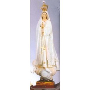 Our Lady of Fatima with Jeweled Crown