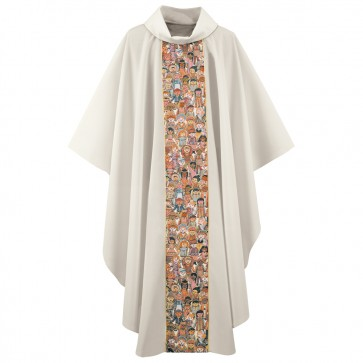 Children of the World Tapestry Chasuble