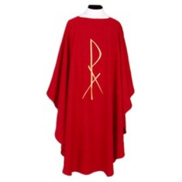 Vestment with Chi Rho