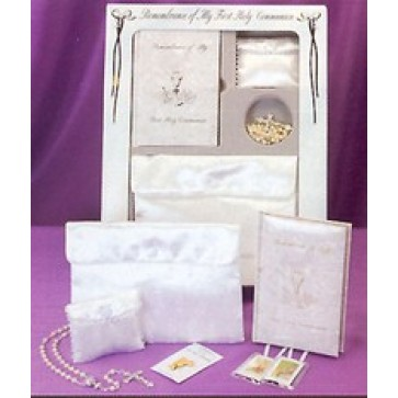 Marian First Communion Boxed Gift Set