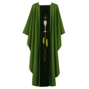 Chasuble with Chalice and Host