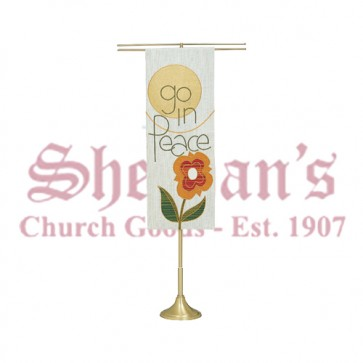 Processional and Telescoping Banner Stand