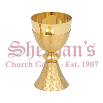 Hammered Finish Chalice