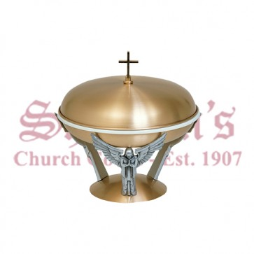 Baptismal Bowl Supported by Three Angels