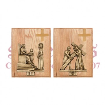 Mounted Stations of the Cross