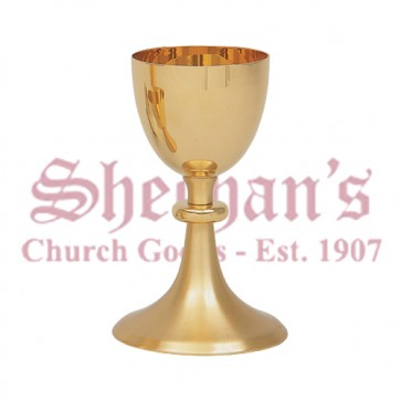 Gold Plated Communion Chalice