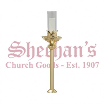 Brass Processional Torch Only