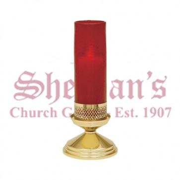Brass Sanctuary Lamp Stand