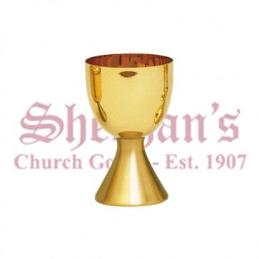 Large Capacity Chalice with Scale Paten