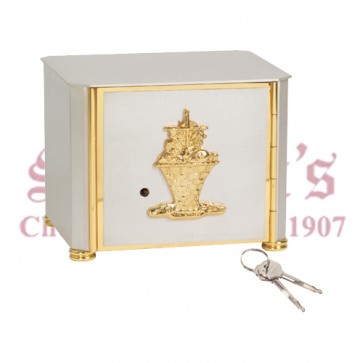 Satin Silver Pated Tabernacle