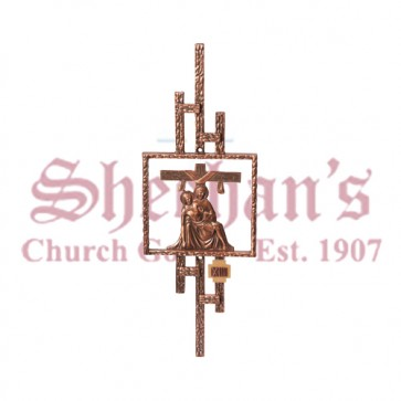 Station of the Cross in Antique Finish