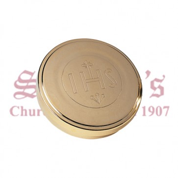 Gold Plated Host Box / Pyx