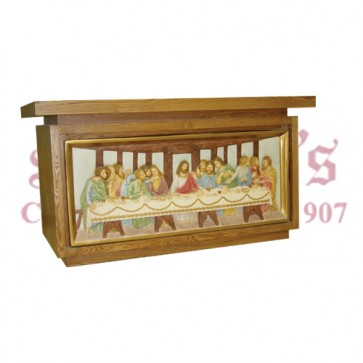 Altar with Last Supper