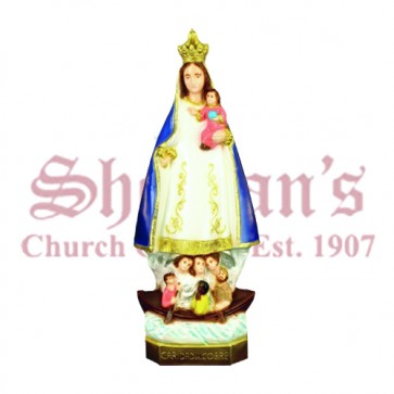 "Our Lady of Charity 24"" Outdoor Statue"